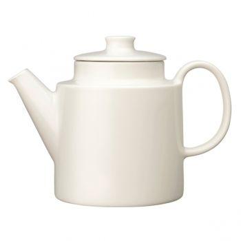 Teema tea pot 1 L, white - Iittala Teema - Dinnerware - Tableware - Finnish Design Shop