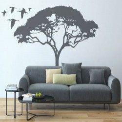 Acacia tree vinyl sticker