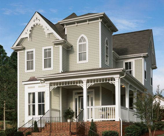 84 best images about house color combinations on pinterest for Fire resistant house siding material hardboard