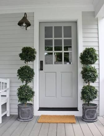 grey and white exterior house colour schemes - Google Search