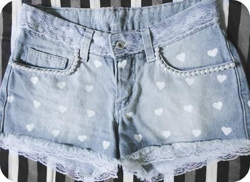 Shorts Customizados (60 fotos) « Dona Giraffa                                                                                                                                                                                 Mais