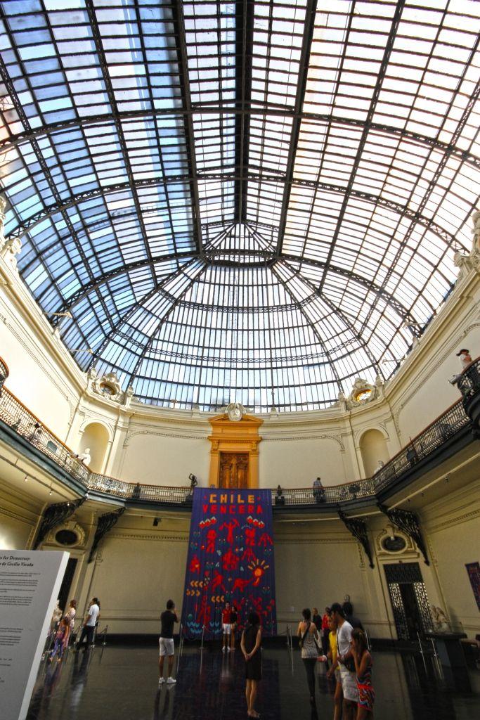 Bellas artes, Santiago.
