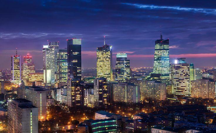 #Central business district #Warsaw #CBD