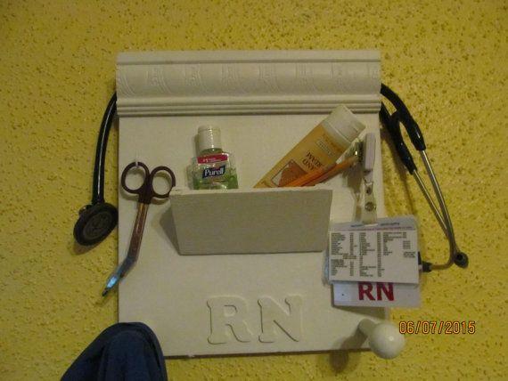 STETHO-KEEPER RN Nurse stethoscope badge holder by CraftyBrady