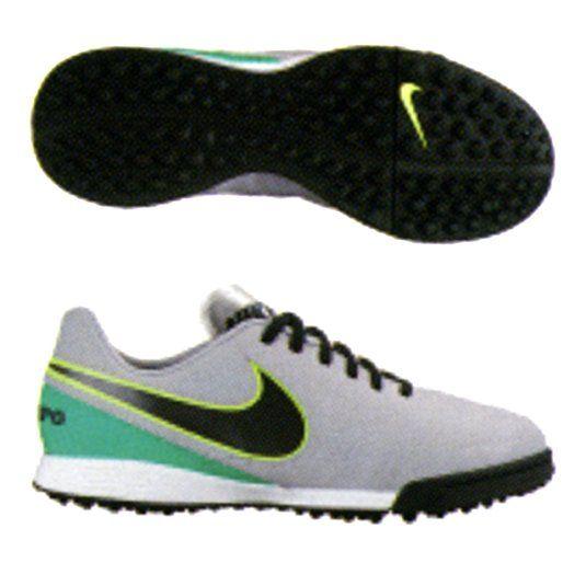 Nike Youth Tiempox Legend VI Turf Grey 819191 Shoes - ShoesColor