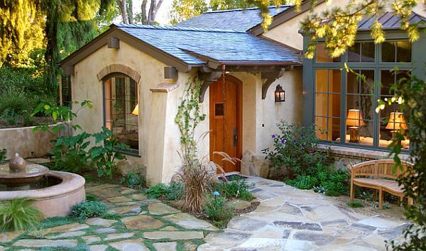 tuscan cottage exterior paint colors | The House With The Blue Door: Choosing the Perfect Exterior Colors