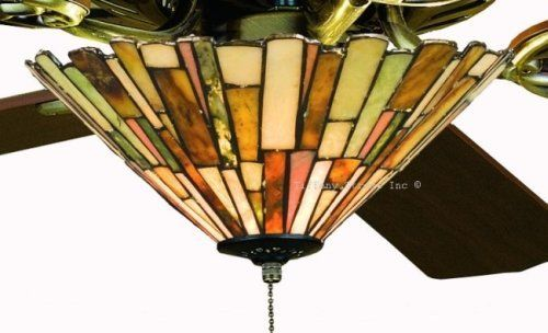 41 Best Stained Glass Ceiling Fan Images On Pinterest Ceiling Fan Ceiling Fans And Glass Ceiling
