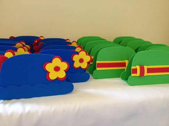 Porta guardanapo Patati e Patata feito em eva, ideal para decorar á sua festa .  Pedido mínimo de 10 valor se refere á unidade. R$ 4,20
