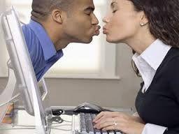 KISSING!