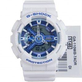 G-Shock Casio Quartz Analog Digital WR200m GA-110WB-7A GA110WB Sports Watch