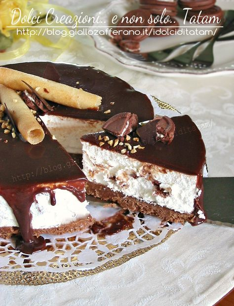 Torta Mousse alla Nutella   torta fredda senza cottura