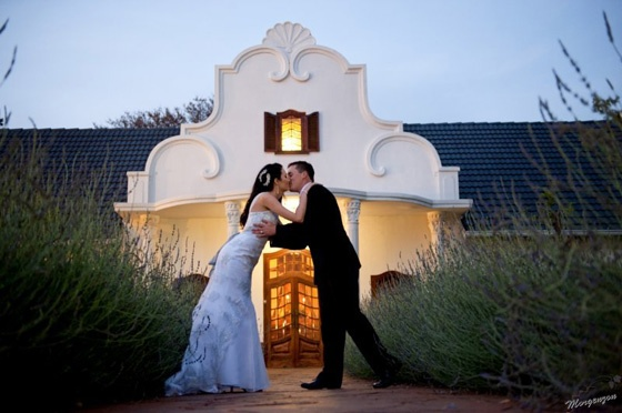 Morgenzon Estate near Pretoria for your country wedding with a touch of the Cape