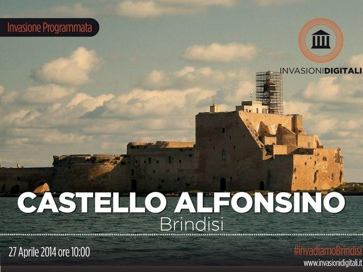 #InvasioniDigitali: Domenica 27 aprile 2014 ore 10:00 al Castello Alfonsino di #Brindisi.  INFO: http://www.invasionidigitali.it/it/invasionedigitale/castello-alfonsino-forte-mare  Hashtag: #InvasioniDigitali #InvadiBrindisi