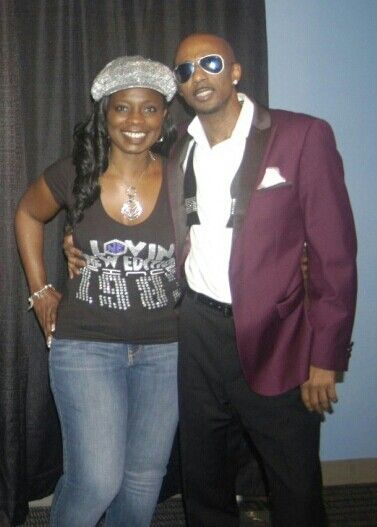 Me with Mr. Ralph Tresvant! One of a kind guy! | Ralph ...