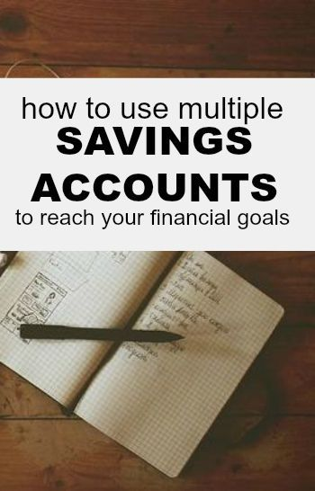 Using multiple savings accounts is an amazing way to organize your financial goals. Here's how to get started.