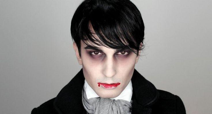 Maquillage Vampire Homme Halloween - My Blog