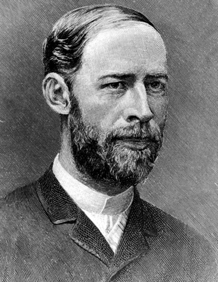 Whenever you talk about Hertz is referring to a major discovery by Heinrich Hertz, a German physicist who was born exactly 155 years