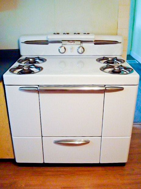 1950s maytag dutch oven gas range retro by