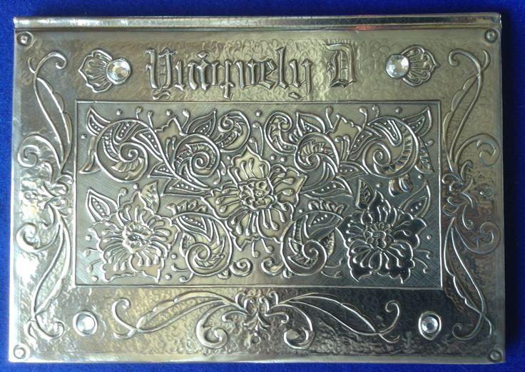 Uniquely D Guest Book (Original Design from Caryl Park's Vintage Design Book)