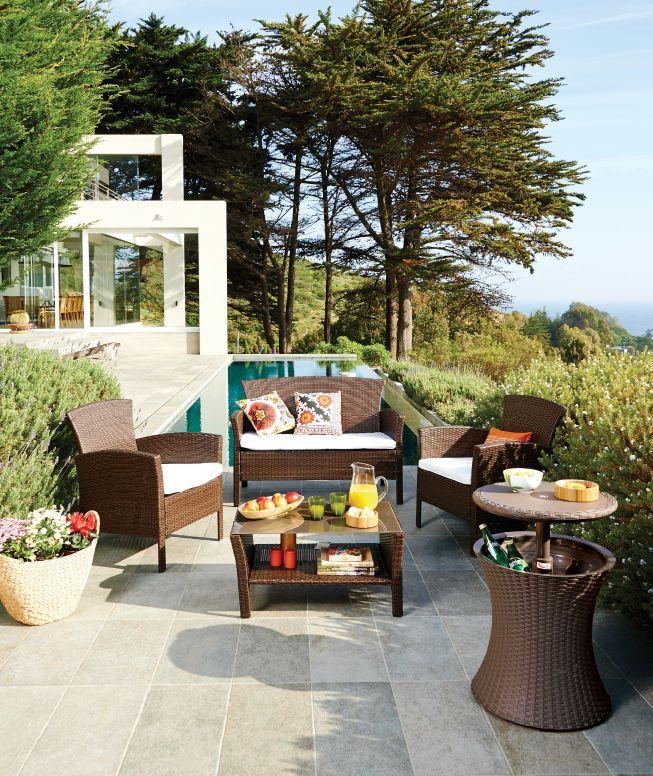 Te invitamos a disfrutar ese rinc n de tu jard n for Easy terrazas chile