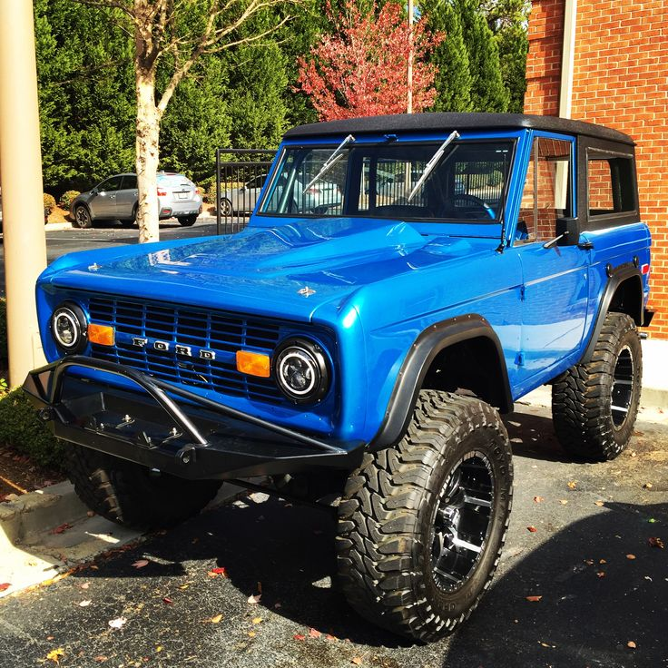 My '72 Early Ford Bronco