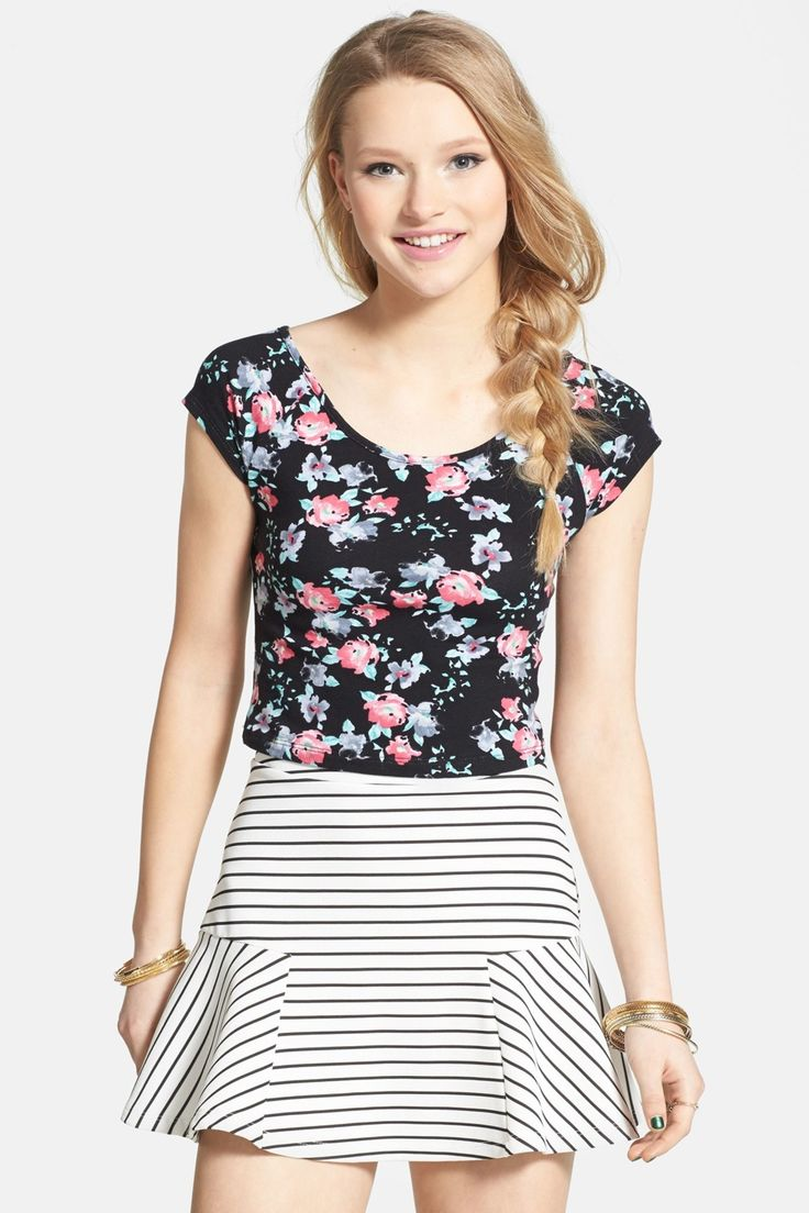 Floral and Stripe!