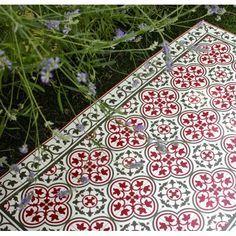 Tapis carreaux de ciment Portugal Beija Flor