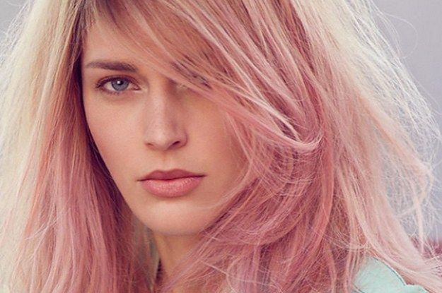 12 reasons rose gold is the most magical shade to dye your hair.  Achieve this look with Organic Colour Systems.