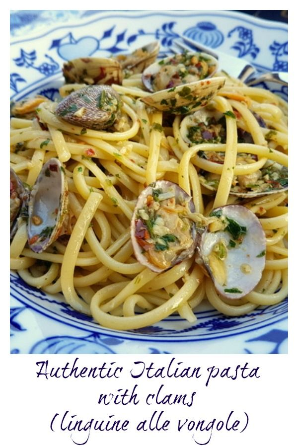 Linguine Pasta Alle Vongole Linguine With Clams Recipe Pasta