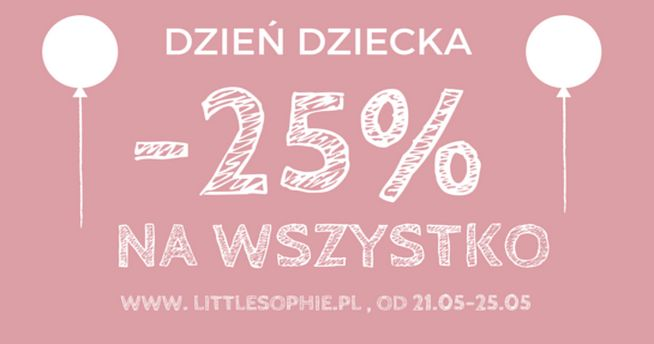 #25% #sale #littlesophie #littlesophiepl #dziendziecka #okazja #przecena #dzieci #dziecko #kids
