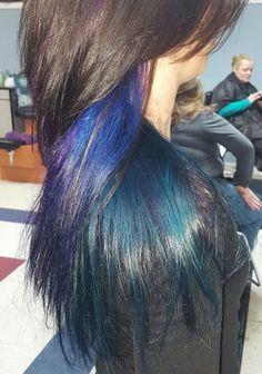 The Best Peacock Hair Color Ideas On Pinterest Peacock Hair - Peacock hairstyle color