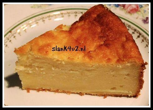 Kokos cheesecake met ricotta - Slank4U2