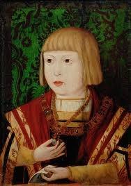 Carlo d'Asburgo figlio di Filippo il Bello e Giovanna la Pazza, nato nel 1500 a Gand.