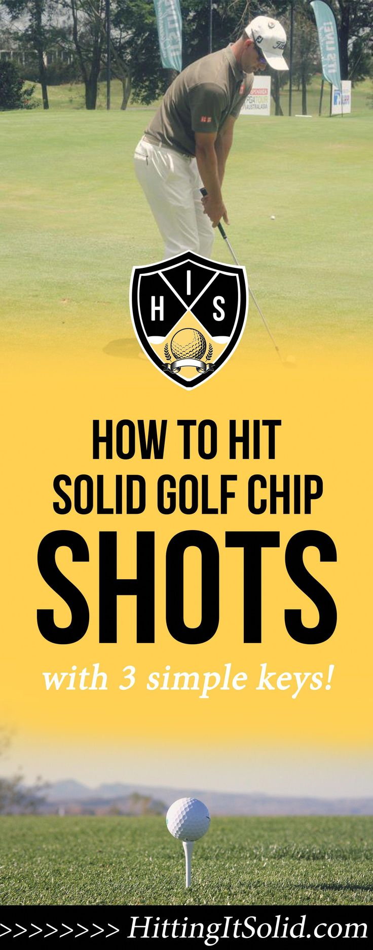 If you want to know how to hit solid golf chip shots