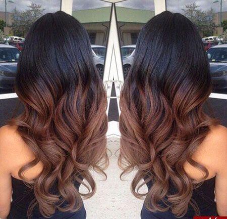 18 coiffures Ombre pour les cheveux longs