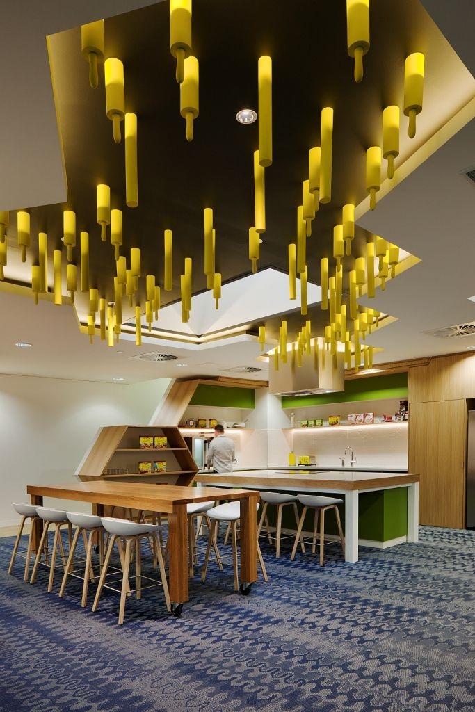 General mills designed by dasch associates highlighting for Skydome light fixture