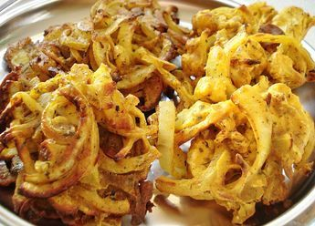 One of my favourite Indian foods, the traditional onion bhaji recipe is made…