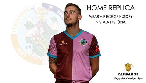 Corinthian-Casuals Home Kit | Camisa I – Corinthian-Casuals FC Online Shop