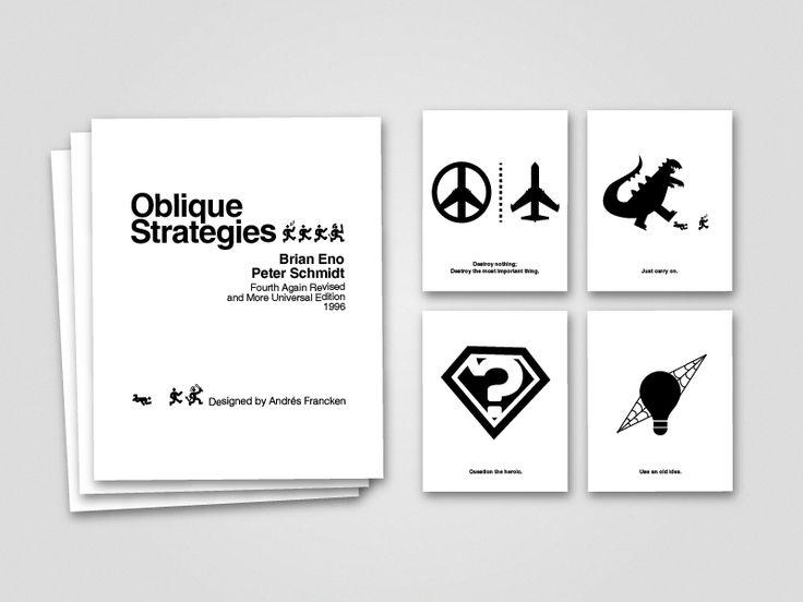Oblique Strategies by Andrés Francken