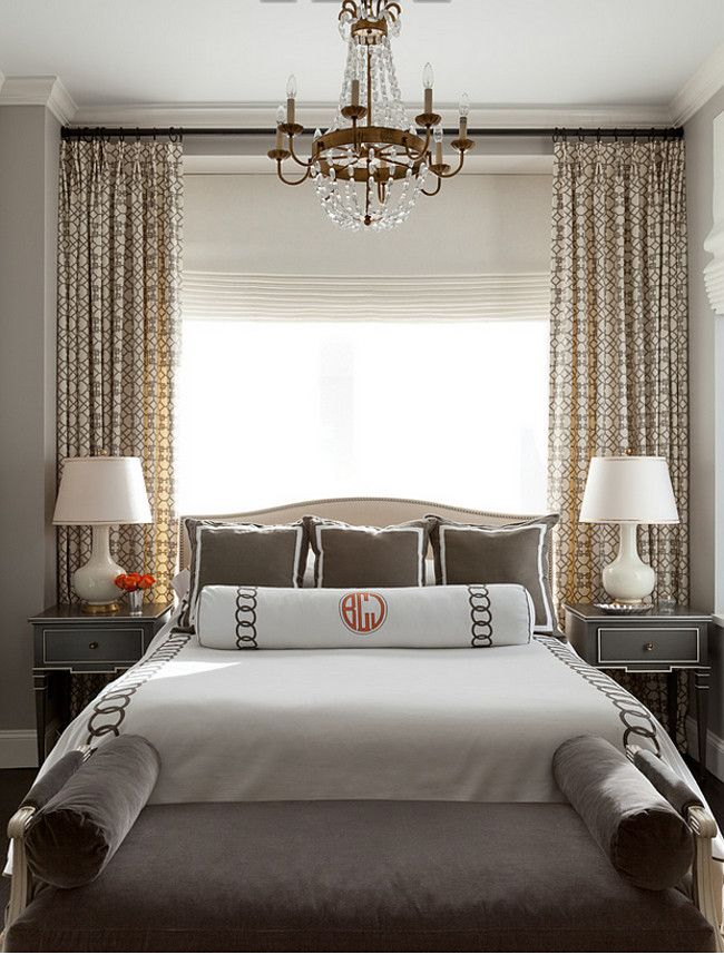 1000 ideas about bedroom window treatments on pinterest for Small main bedroom decor ideas