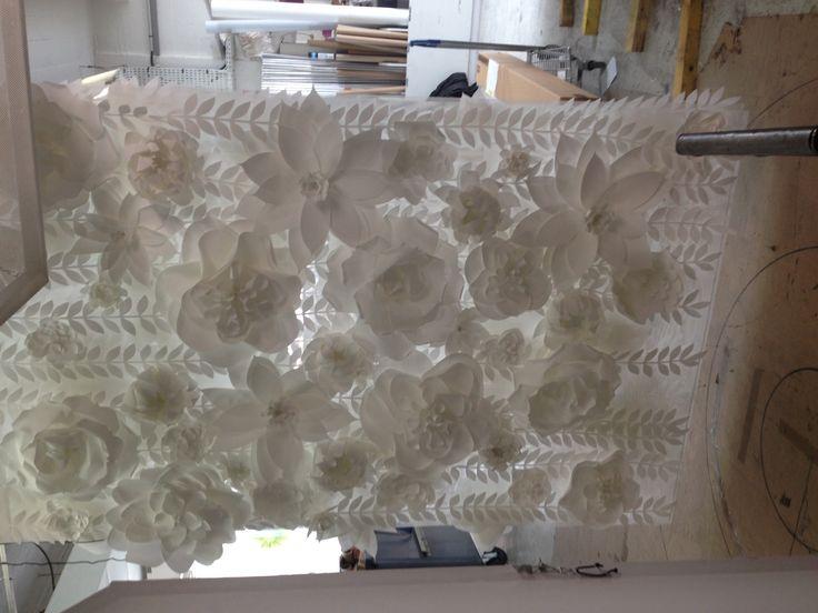 Le mur des fleurs