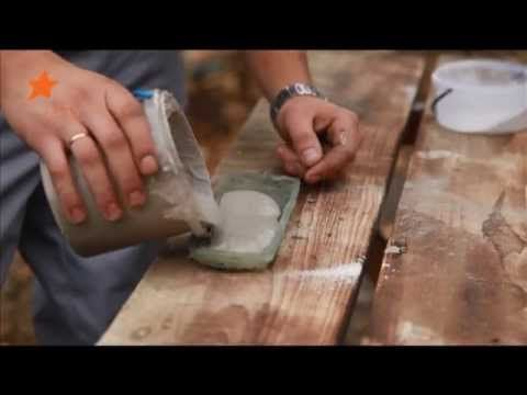 Декоративная плитка своими руками - Дача - 2.11.2013 - Выпуск 63 - YouTube