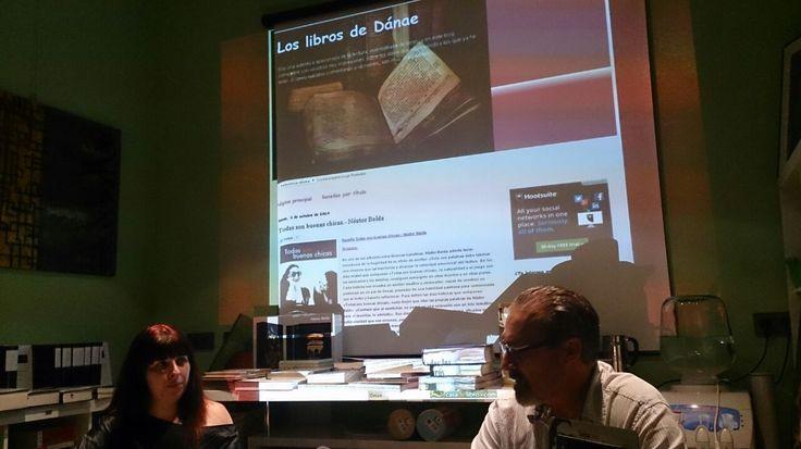 Había mucha complicidad con Inma de Los Libros de Dánae (http://bit.ly/1vVEFWE). Puedes adquirir tu ejemplar de «Todas son buenas chicas» en http://bit.ly/1nnYIIp