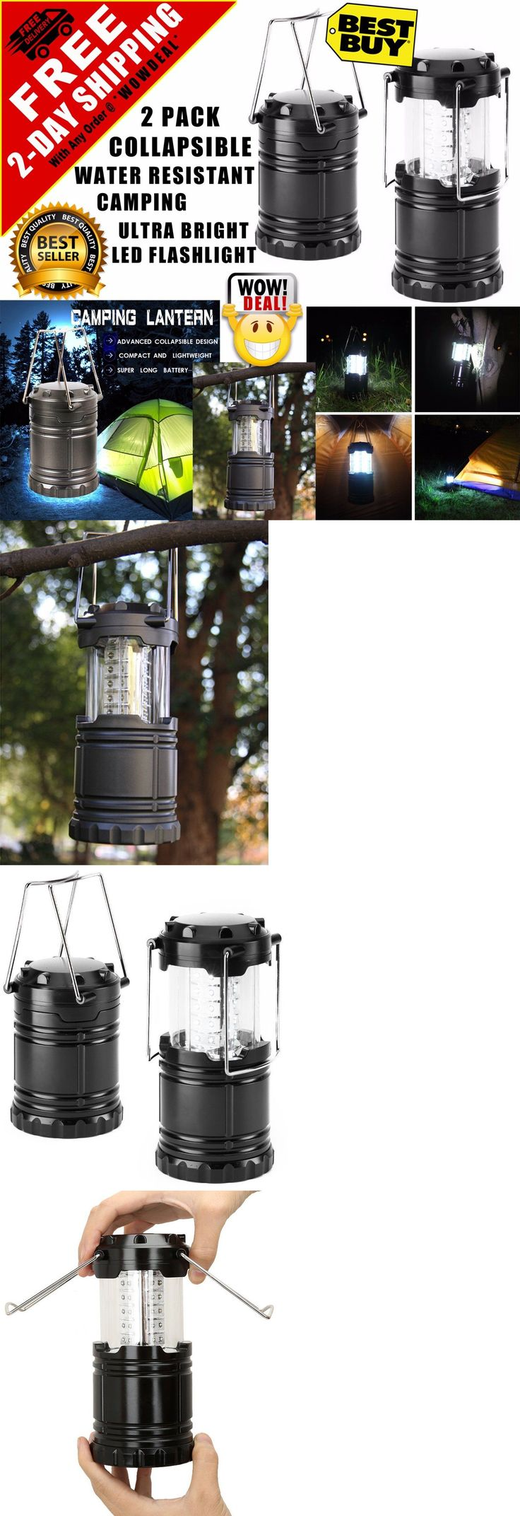 Lanterns 168867: 2 Portable Collapsible Led Lanterns Tac Light Lamps Emergency Camping As Seen Tv -> BUY IT NOW ONLY: $110 on eBay!