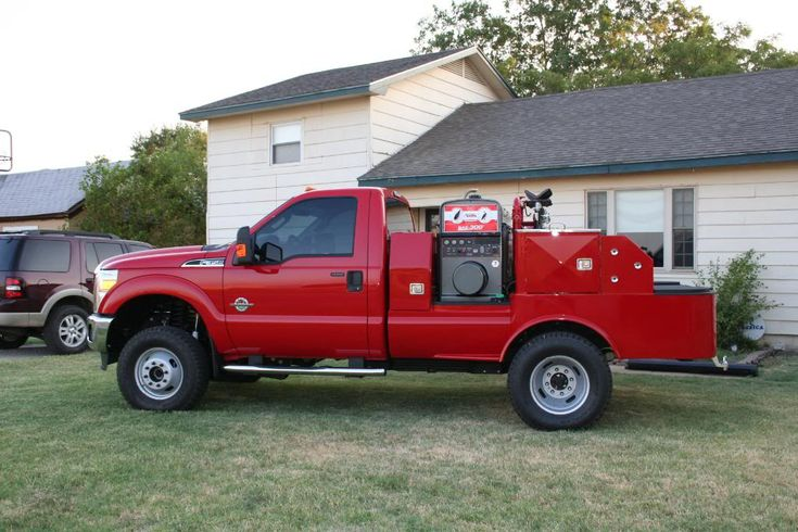 As Promised Pics Of New Welding Truck Powerstrokenation