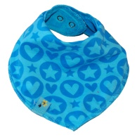Scarf PopHearts blue
