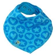 Scarf PopHearts blue