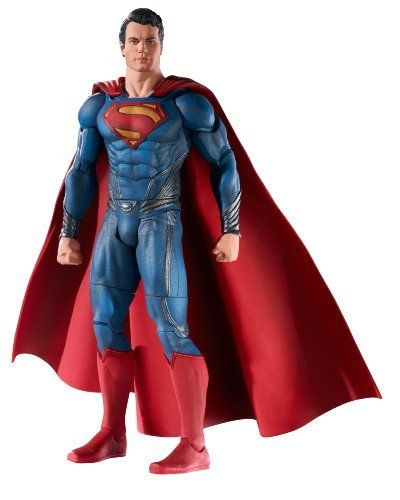 Superman Man of Steel Movie Masters Superman Action Figure Children Kids Game @ niftywarehouse.com #NiftyWarehouse #Geek #Gifts #Collectibles #Entertainment #Merch