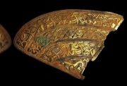 Padmanabhaswamy temple golden hat plate part