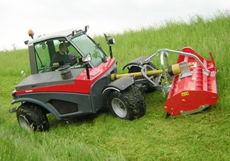 Aebi Terratrac Steep Ground Tractor